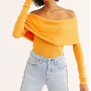 Free People We the Free Snowbunny Long Sleeve